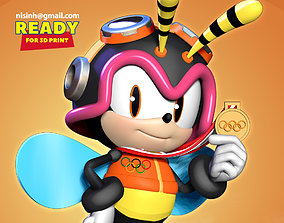 3D printable model Charmy Bee wins gold medal at Olympics