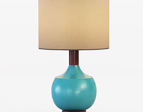 Modernist Table Lamp 3D model