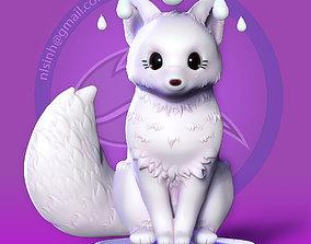 Fox Girl 3D print model