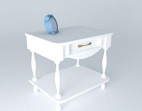 3D standing nightstand