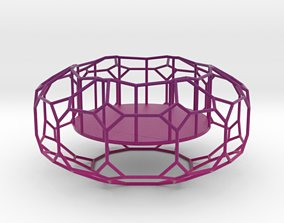 3D printable model portavelas Tealight Holder