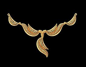 Light necklace prototype 3D print model