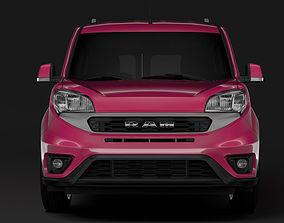 3D model Ram ProMaster City Wagon SLT L1 2019