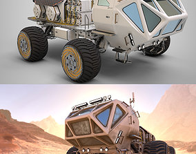 3D model Marsohod Rover