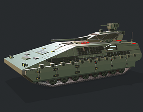 3D asset Armored Tank IFV