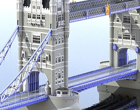 3D other Bridge London Tower