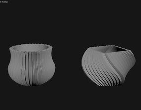 3D Printed Planter Plant Pot Plant Vase 122