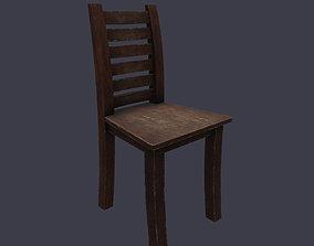 Chair Debris 3D model