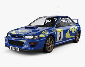 3D Subaru Impreza 22B Rally coupe 1997