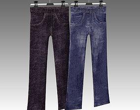 Jeans 003 3D model