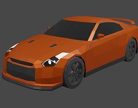 Nissan GTR R35 3D asset
