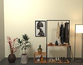 3D model Minimal Coat Stand