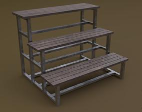 3D asset Tribune 09 R