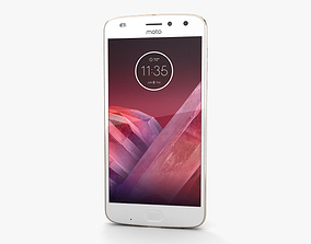 3D model Motorola Moto Z2 Play Fine Gold