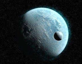 3D model Ice Planet