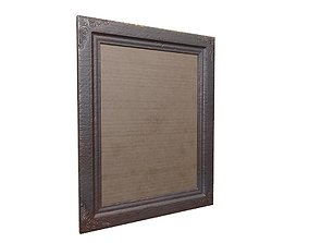 picture Frame Game Ready 3D asset