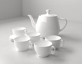 Cup and Jug Set 2 3D model