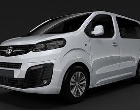 3D model Vauxhall Zafira Life L1 2020