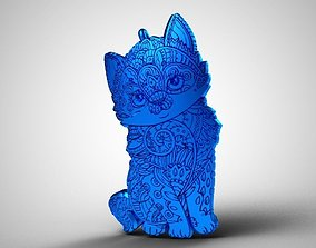 3D printable model Cat Pendant pendant
