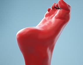 Claw Foot Realistic Foot Model 06 3D
