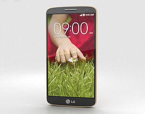 3D model LG G2 Mini Gold