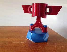 3D printable model Piston Trophy