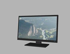 3D asset LED Monitor