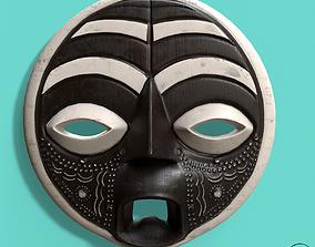 3D model African Mask Pbr