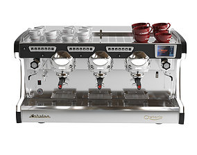 3D asset Astoria Sabrina coffe machine