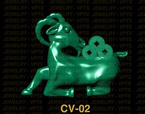 Jewelry mammal 3D