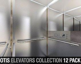 OTIS Elevators Collection - 12 Pack 3D model