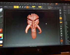 Mythosaur Skull 3D printable model