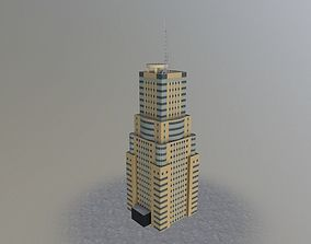 3D asset Moscow Office Building2