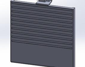 Gameboy Classic Batterydoor 3D printable model