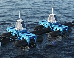 3D Ocean Cleanup System Project