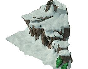 3D Huashan Mountain Road - Ice and Snow Mountain 05