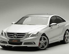 Mercedes E Class Coupe 2010 3D