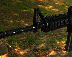 3D asset - PBR - M4A1 Crabine