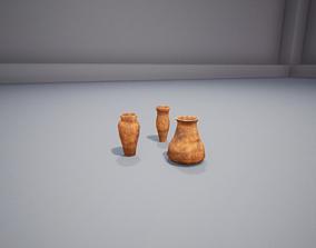 Clay Vases 3D model