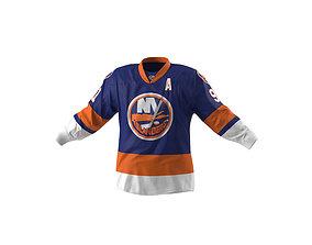 3D model Hockey Jersey Islanders
