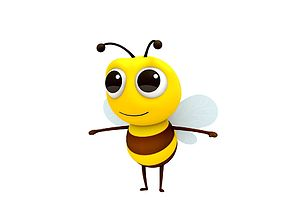 3D Bee Character