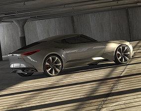Hyundai HND-9 and garage 3D