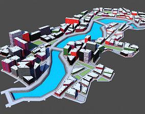 city river 3D
