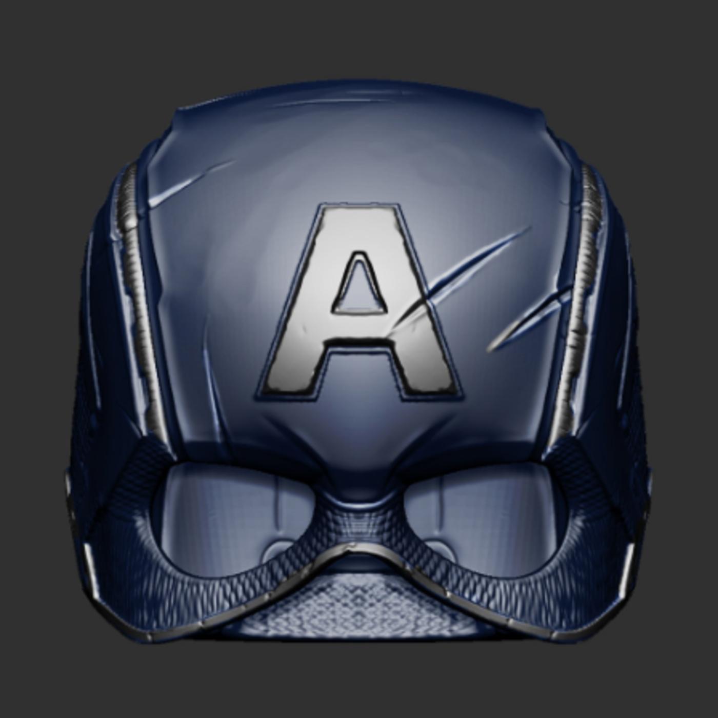 Captain Americal Helmet