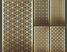 Decorative panel set 54 3D
