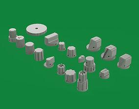 18 knob for your Boeing Home Cockpit 3D print model