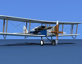 Airco DH-4 Everette Air Transport 3D model