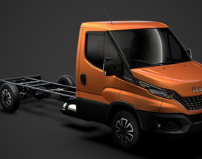 3D model Iveco Daily Single Cab L4 Chassis 2020