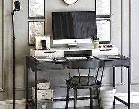 laptop Office workplace 26 3D model