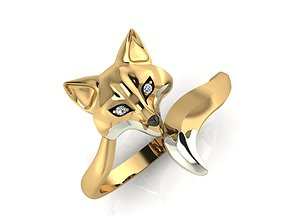 fox ring 3d model